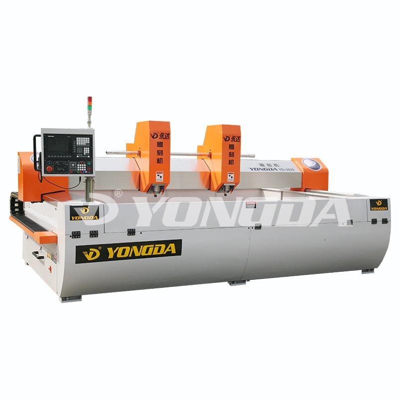 30000Rpm Per Min Double-Head Engraving Machine YONGDA YD-3020II