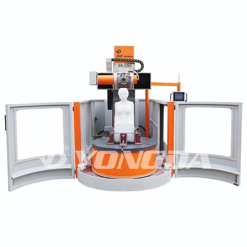 Anti-Water & Anti-Dust CNC Column Engraving Machine