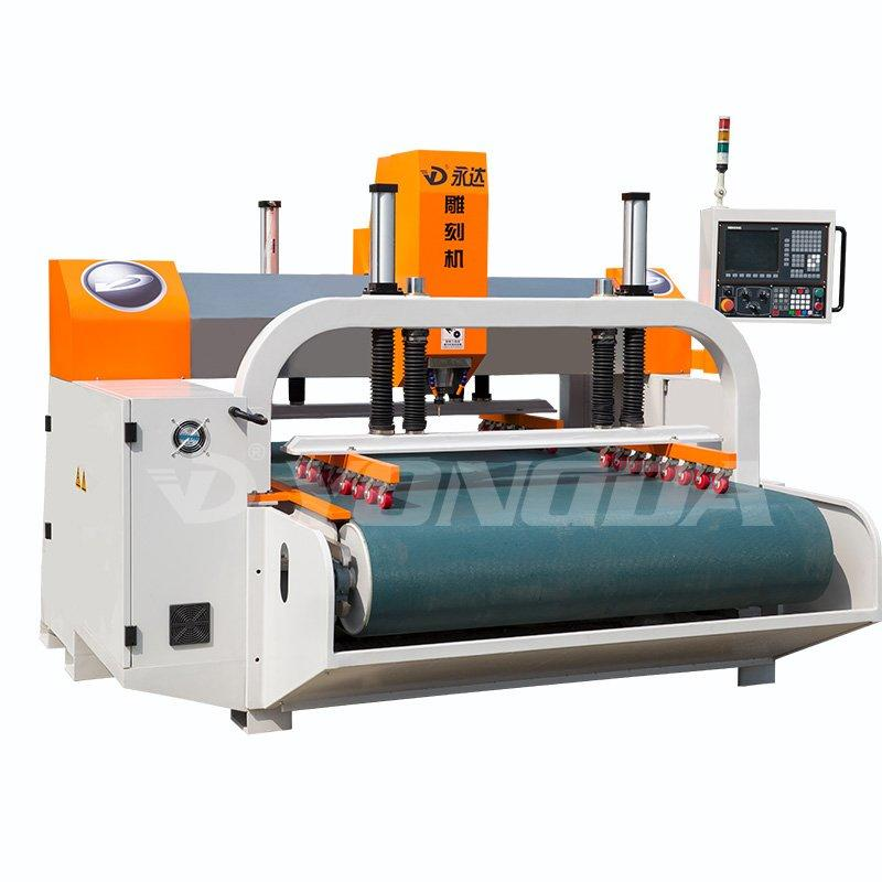 Japan Yaskawa Servo Motor High Precision Belts Engraving Machine