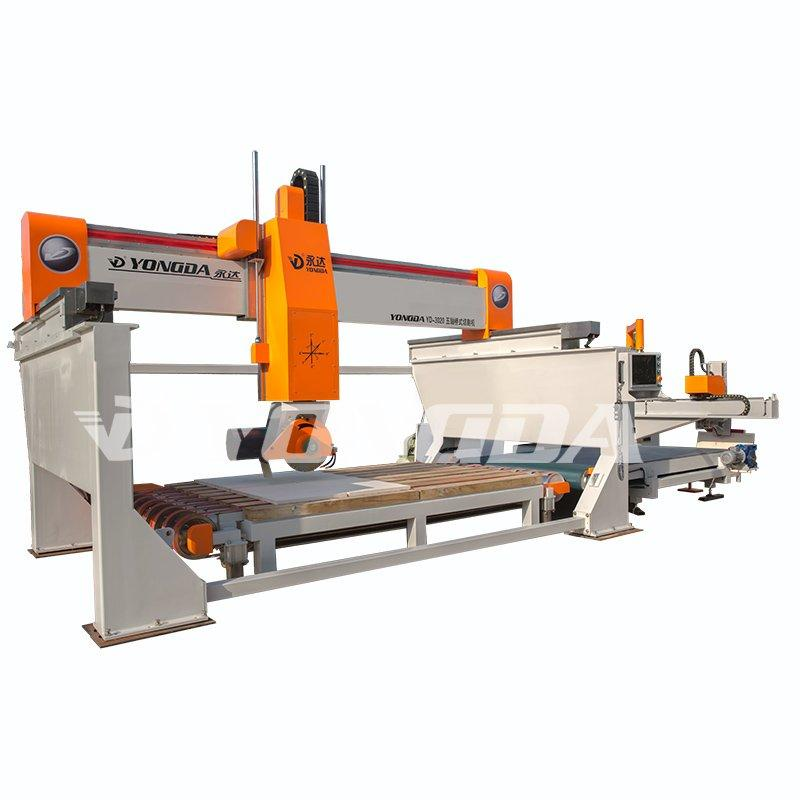5 Axis Bridge Saw Automatic Cutting Machine for Stone granite marble ceramic glass YONGDA