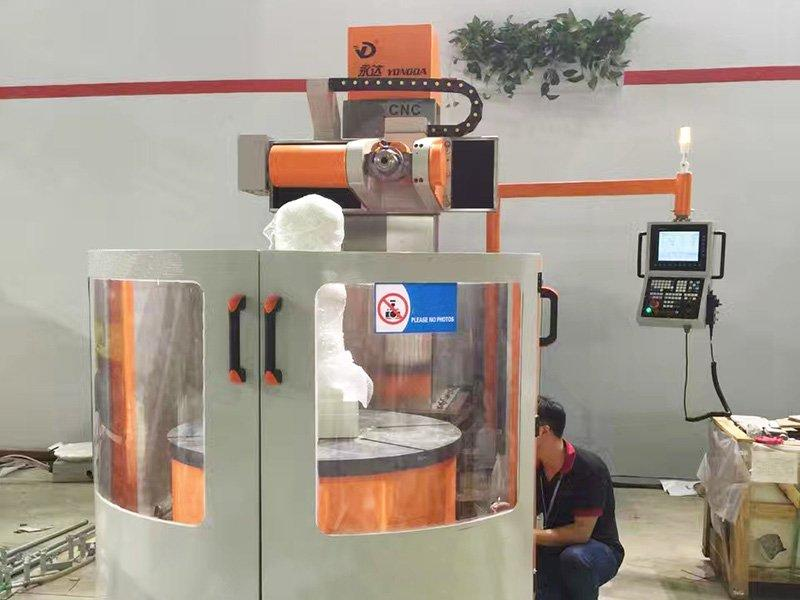 Engraving machine in Russia