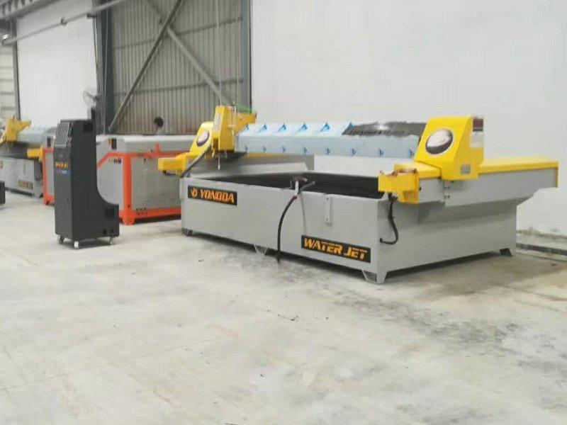 Yongda waterjet cutting machine in USA