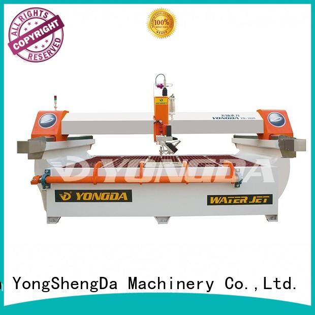 cnc waterjet water OEM 5 axis water jet cutting machines YONGDA
