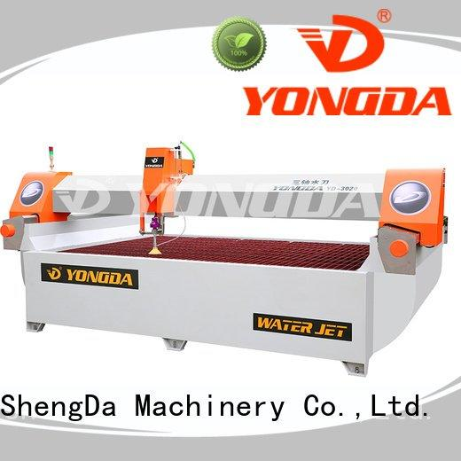 ac axis flying industrial water jet cutter YONGDA