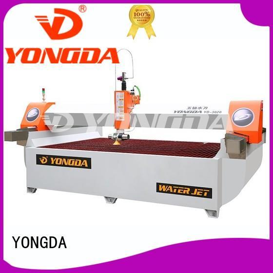 cnc waterjet 5 axis water jet cutting machines YONGDA Brand