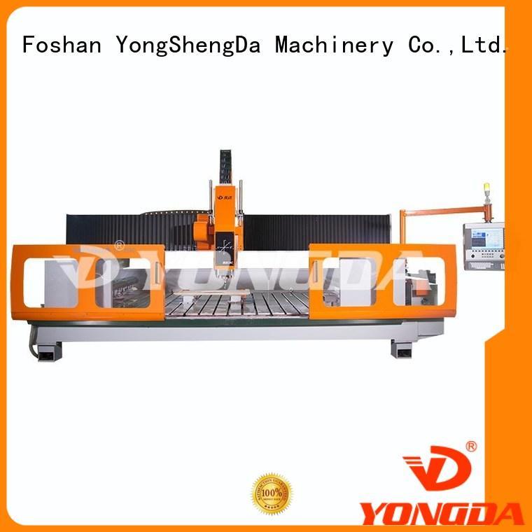 YONGDA precise cnc metal engraving machine price kitchen for cutting glass