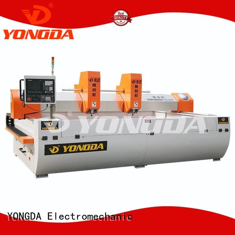Hot antidust cnc engraving machine price column min YONGDA Brand