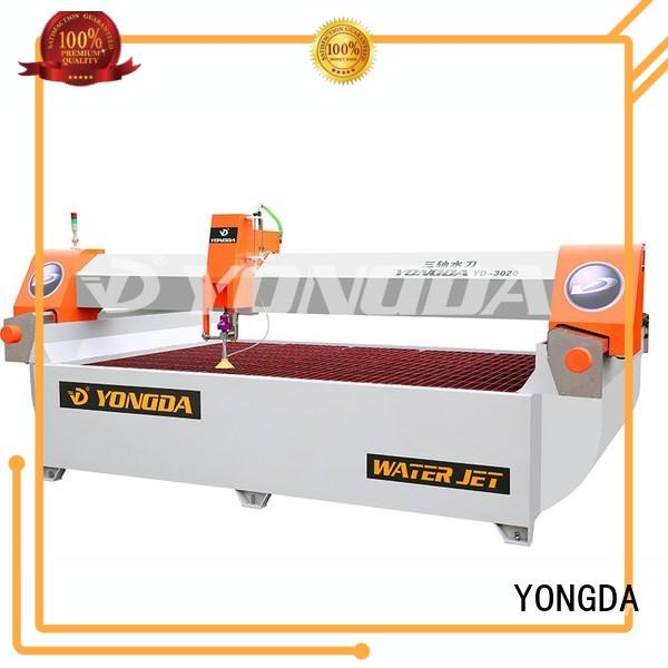 water ac any 5 axis water jet cutting machines flying YONGDA