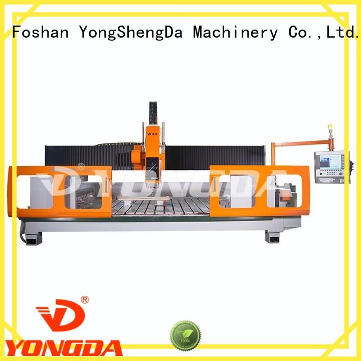 stone prossing cnc milling machine parts center axis YONGDA Brand