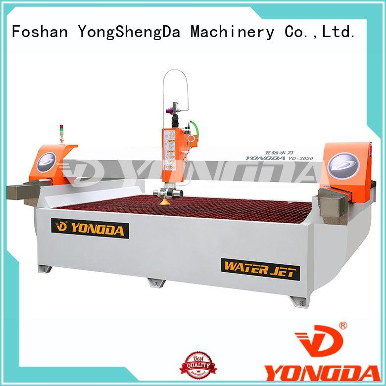 Hot industrial water jet cutter flying 3axis axis YONGDA Brand