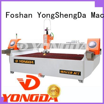 3axis 5 axis water jet cutting machines YONGDA industrial water jet cutter