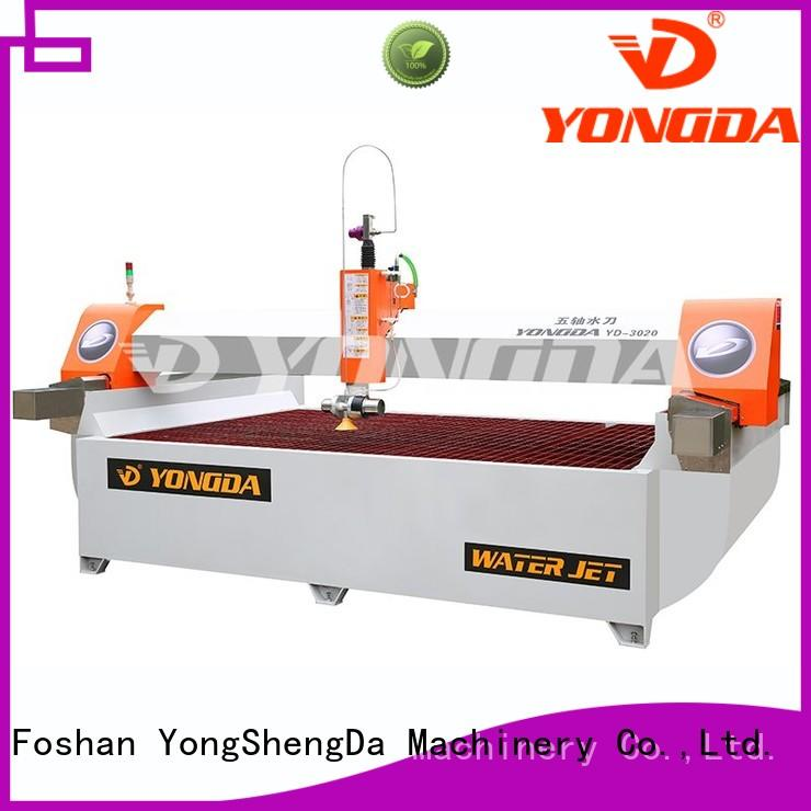 cutting bridge axis OEM 5 axis water jet cutting machines YONGDA
