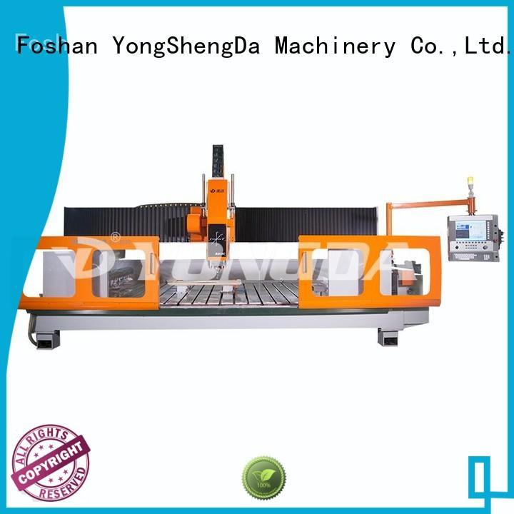 cnc milling machine parts cnc prossing cnc lathe machine manufacturer YONGDA Brand