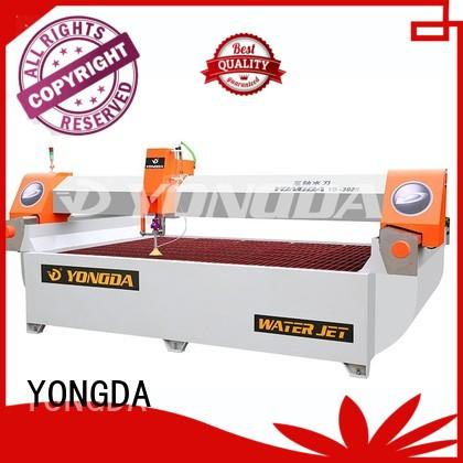 ac any 5 axis water jet cutting machines arm flying YONGDA company