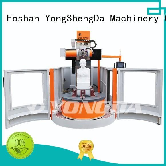 YONGDA Brand doubleheaded one engraving machine online machine supplier