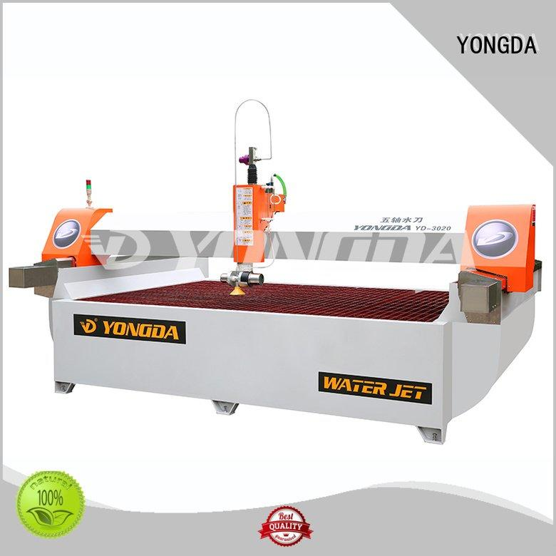 YONGDA Brand waterjet industrial water jet cutter cnc arm