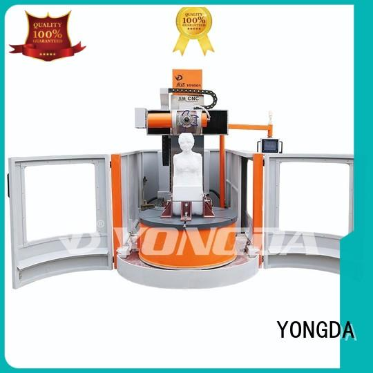 YONGDA Brand one doubleheaded engraving machine online 30000rpm supplier