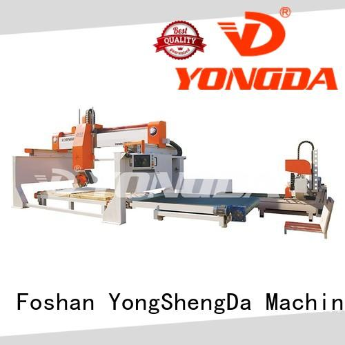 5 Axis Bridge Saw Automatic Cutting Machine for Stone granite marble ceramic glass YONGDA