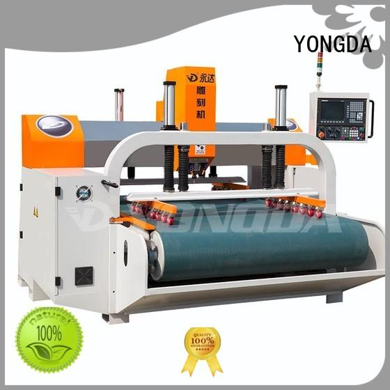 YONGDA antidust cnc metal engraving machine supplier for cutting stone