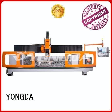 center stone cnc milling machine parts axis YONGDA company