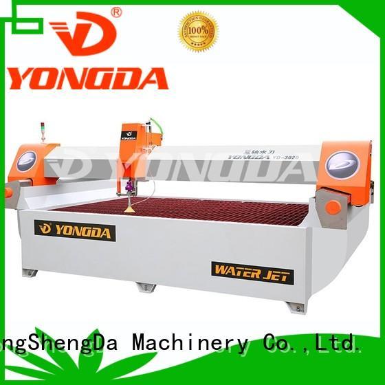YONGDA Brand pressure waterjet bridge 5 axis water jet cutting machines manufacture