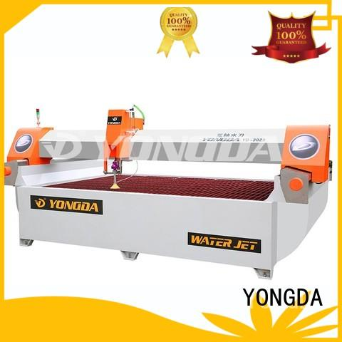ac angle 5 axis water jet cutting machines bridge YONGDA