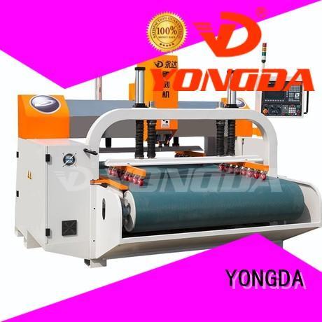 servo cnc metal engraving machine high efficiency for cutting metal YONGDA