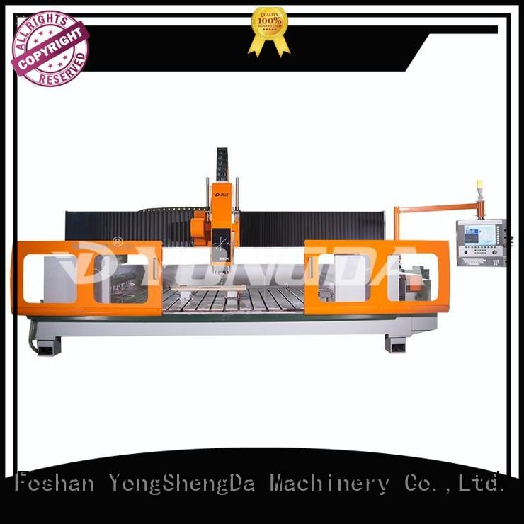 yongda industrial cnc machine high speed for cutting glass YONGDA