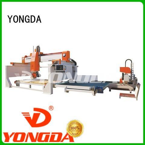 YONGDA Brand ceramic axis cnc granite bridge saw manufacture