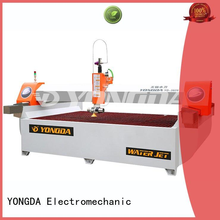 industrial water jet cutter jet YONGDA Brand 5 axis water jet cutting machines