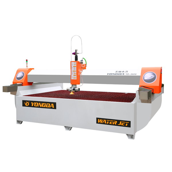 YONGDA-High Pressure 5-axis Cnc Waterjet Cutting Machine | Water Jet Cutting Equipment-21