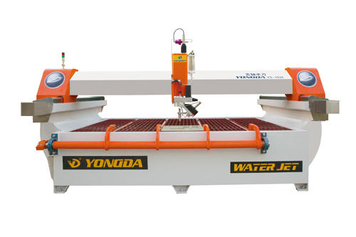 waterjet cutting machine video