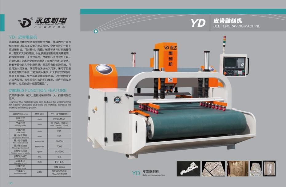 ENGRAVING MACHINE BELT TYPE