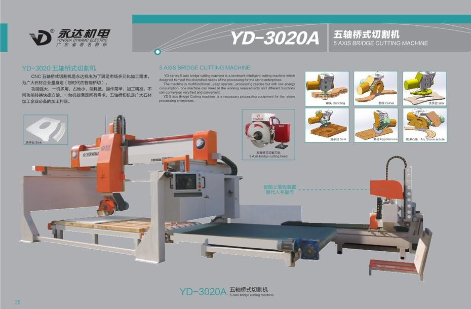 5 AXIS BRIDGE SAW MACHINE(A)