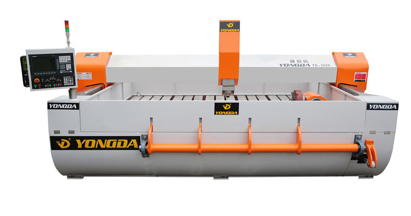 YONGDA-The overall structure and principle of stone engraving machine-3