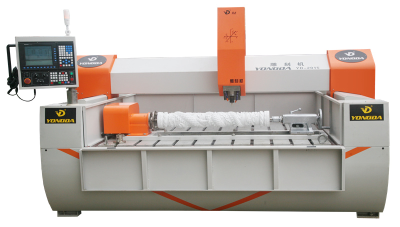 YONGDA-The overall structure and principle of stone engraving machine-4
