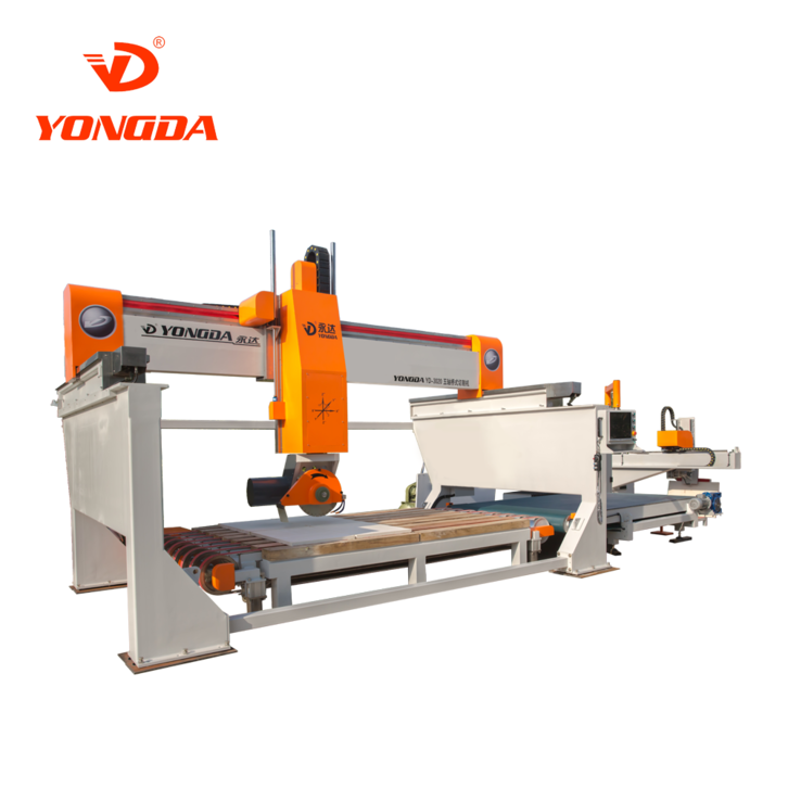 bridge saw machine cutting