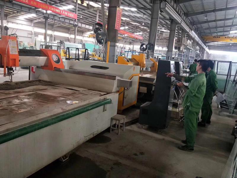 Vietnamese customers purchase Yongda waterjet 9 sets at one time 02