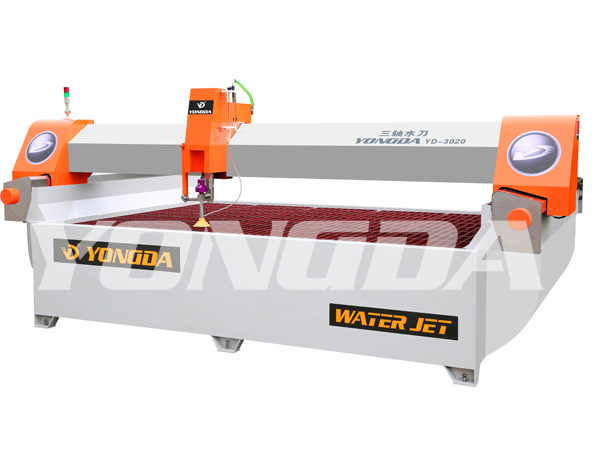 YONGDA-Flying Arm And Bridge Water Jet Cutting Machine Waterjet Cutting-13