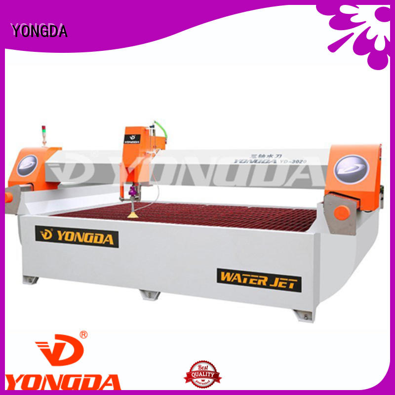 YONGDA ab waterjet cutting systems simple maintenance for cutting plastic