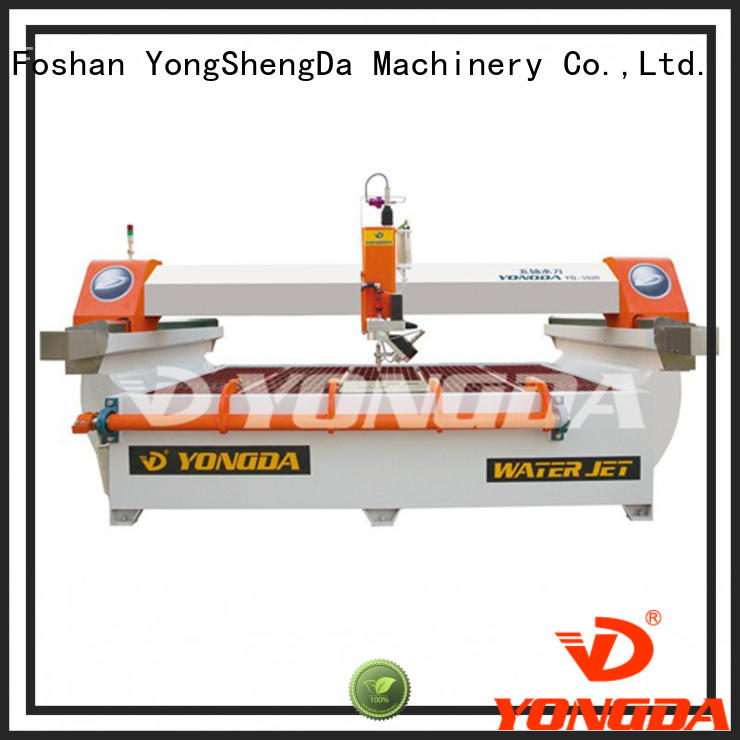 YONGDA precise waterjet cutting services ac for cutting plastic