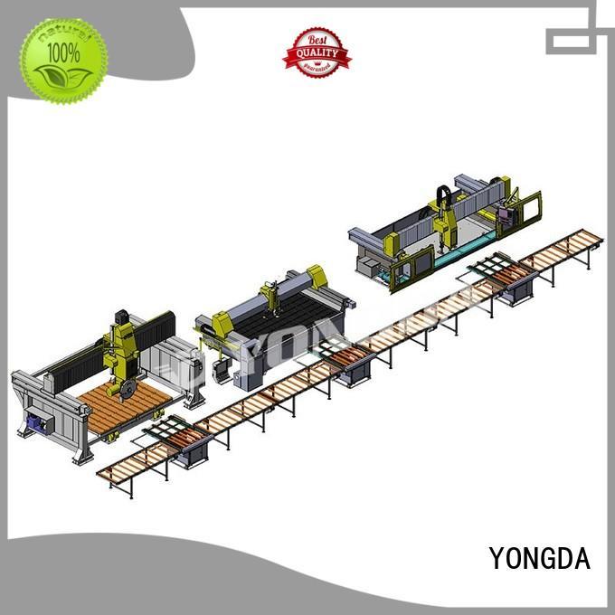 material manufactured countertops cutting YONGDA company