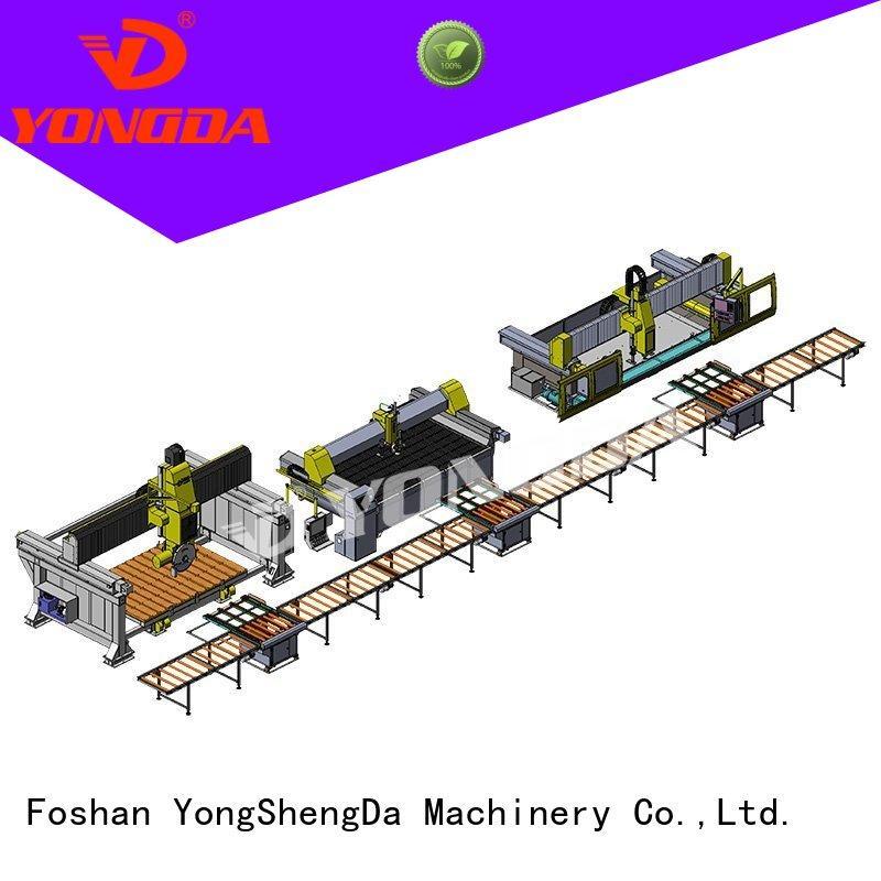 raw cutting line manufactured countertops YONGDA Brand company