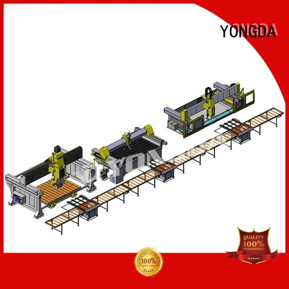 edge raw machine OEM manufactured countertops YONGDA