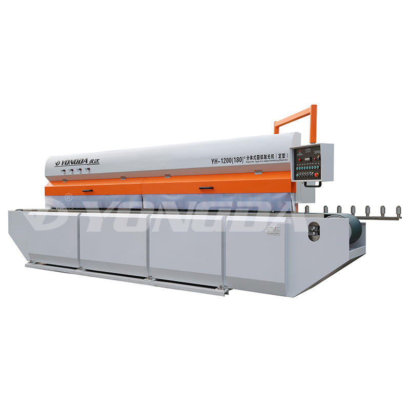 YONGDA-Yh-1200180°stone Arc-edge Polishing Machine | Portable Edge Banding-1