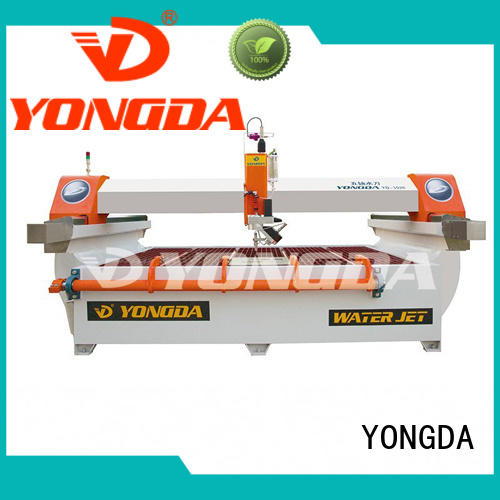 YONGDA dustproof what is water jet cutting easy operation for cutting metal