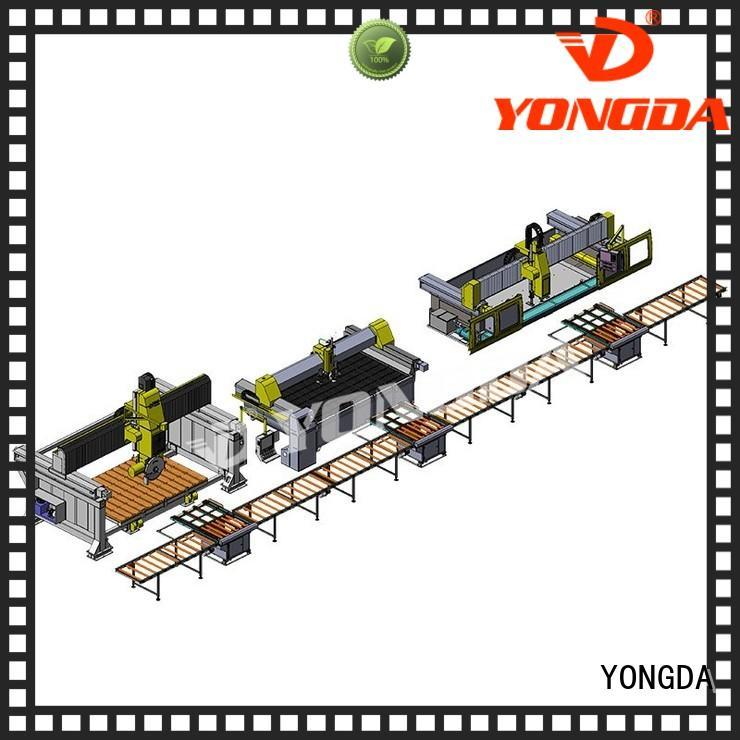 line edge manufactured countertops production YONGDA company